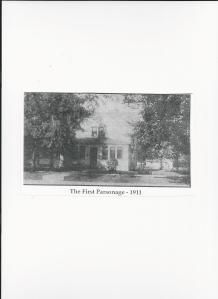 first Parsonage - 1911